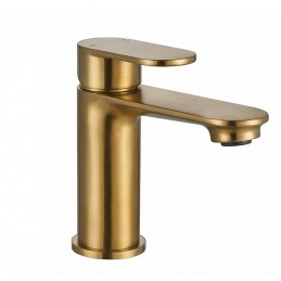 Mono Basin Mixer - Brass