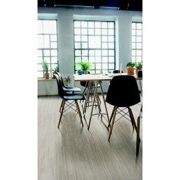 White Visual Wood Look Tiles
